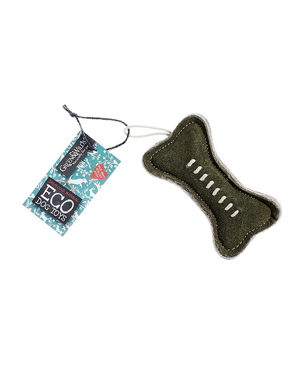 GREEN & WILD'S GREEN BONE ECO DOG TOY