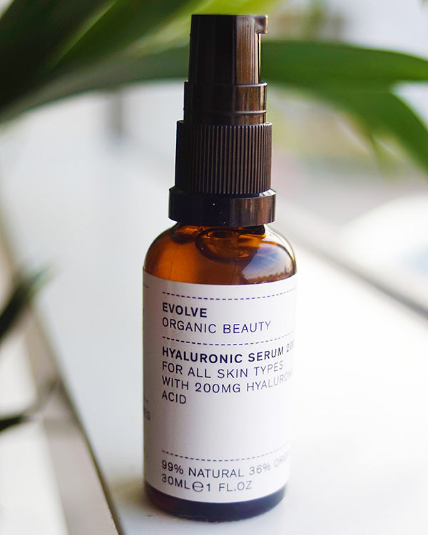 EVOLVE ORGANIC BEAUTY - HYALURONIC SERUM 200