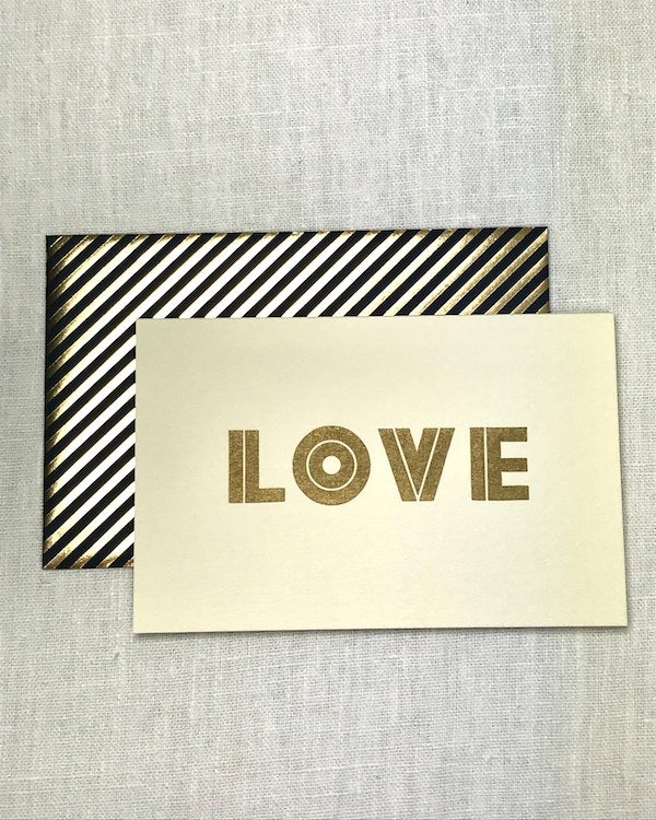 KATIE LEAMON - LOVE VALENTINES CARD