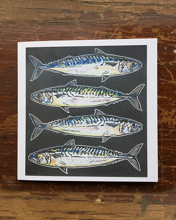 SARAH CEMMICK MACKEREL LINO CARD