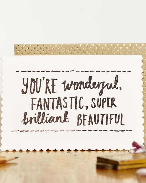 KATIE LEAMON - WONDERFUL, FANTASTIC CARD