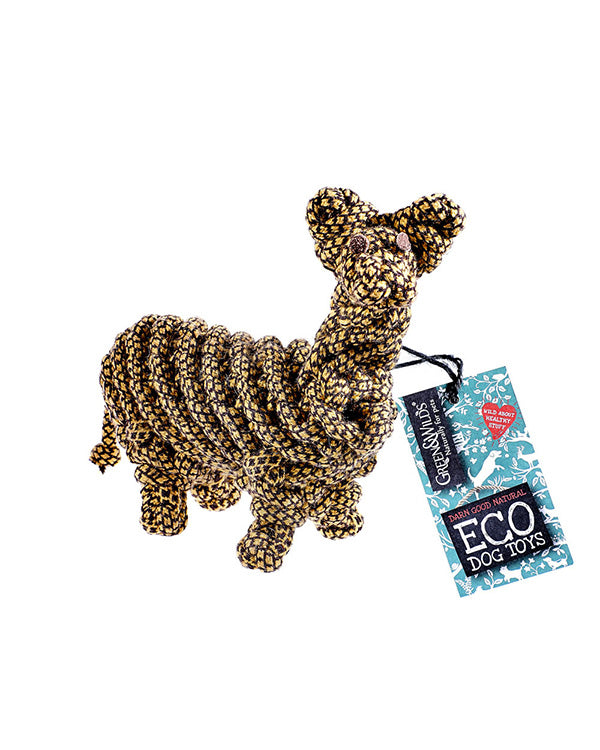 GREEN & WILD'S LIONEL THE LLAMA ECO DOG TOY