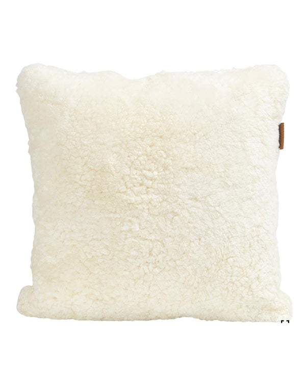 SHEPHERD SHEEPSKIN CUSHION 40CM X 40CM CREAM