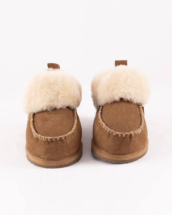 SHEPHERD ALBINA SHEEPSKIN SLIPPERS