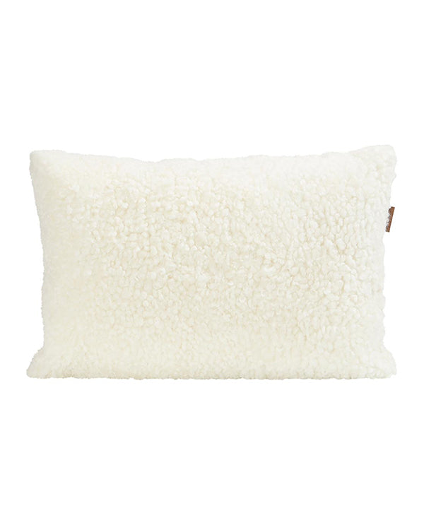 SHEEPSKIN & WOOL CUSHION 60CM X 40CM