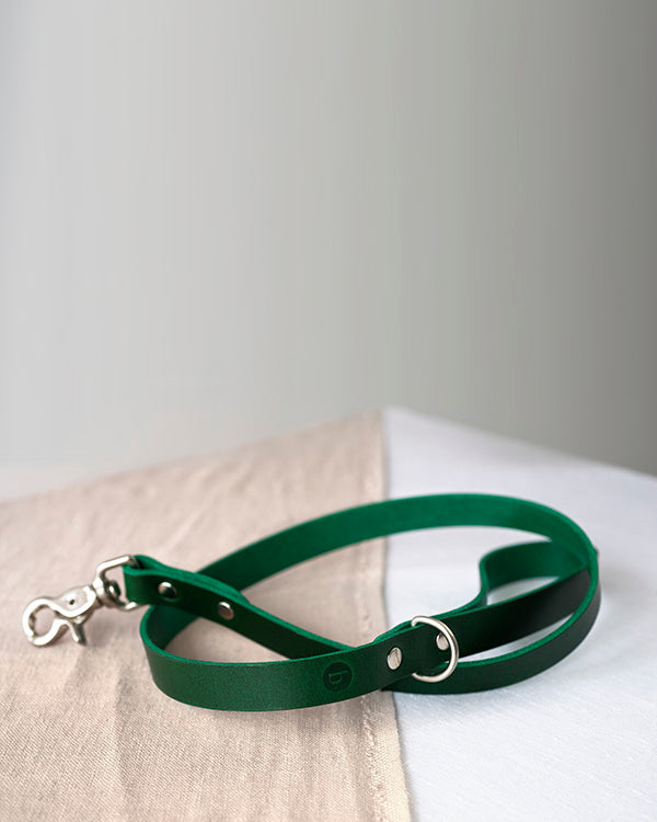 BARKENED BUTTERO LEATHER EVERYDAY DOG LEAD