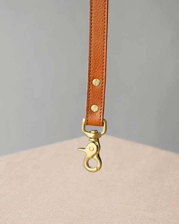 BARKENED LUXURY TWO-TONE DOG LEAD