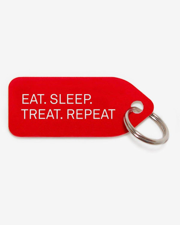 GROWLEES DOG COLLAR CHARM - EAT. SLEEP. TREAT. REPEAT.