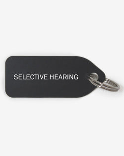 GROWLEES DOG COLLAR CHARM - SELECTIVE HEARING