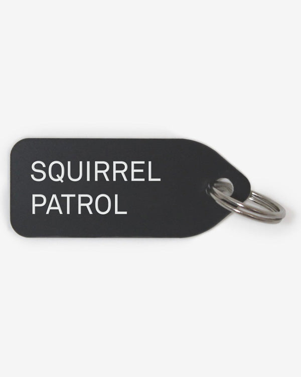 GROWLEES DOG COLLAR CHARM - SQUIRREL PATROL