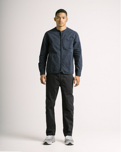 KESTIN - SKYE OVERSHIRT IN DARK NAVY COTTON TWILL