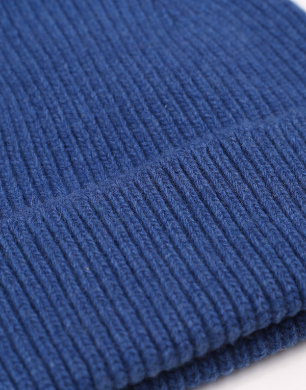 COLORFUL STANDARD UNISEX MERINO WOOL BEANIE - ROYAL BLUE
