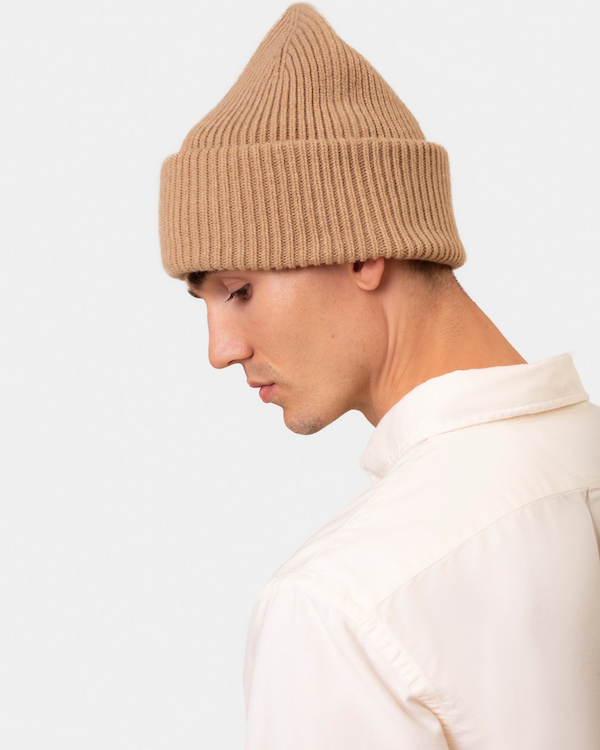 COLORFUL STANDARD UNISEX MERINO WOOL HAT - BURNED YELLOW