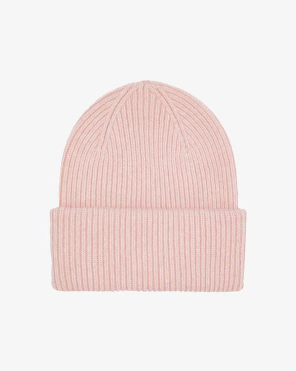 COLORFUL STANDARD UNISEX MERINO WOOL HAT - FADED PINK