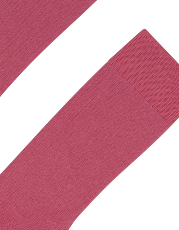 COLORFUL STANDARD MENS ORGANIC COTTON SOCKS - RASPBERRY PINK
