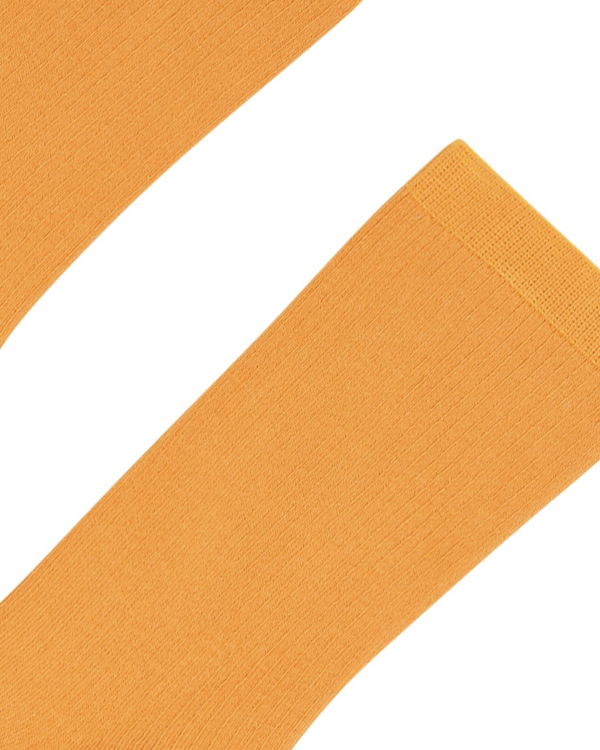 COLORFUL STANDARD MENS ORGANIC COTTON SOCKS - SUNNY ORANGE