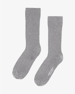 COLORFUL STANDARD ORGANIC COTTON SOCKS - HEATHER GREY