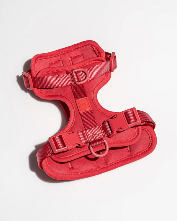 WILD ONE CUSHIONED HARNESS RED