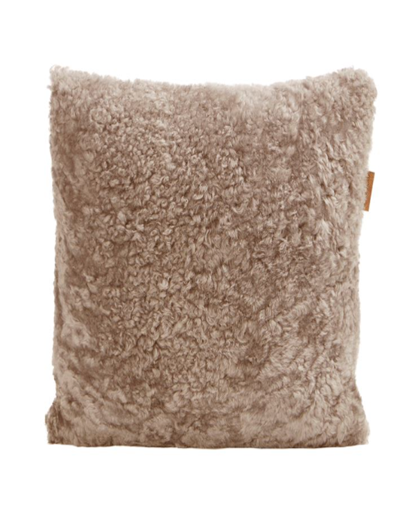 SHEEPSKIN & WOOL CUSHION 40CM X 40CM