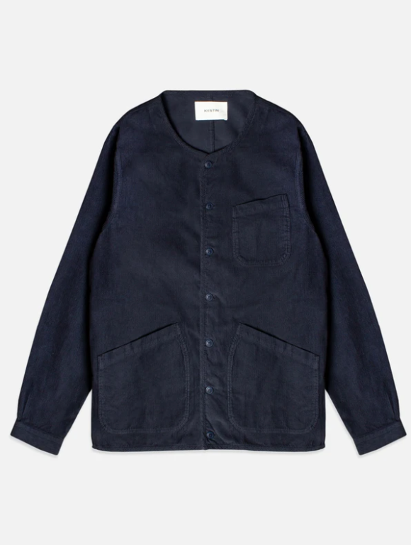 KESTIN - NEIST OVERSHIRT IN NAVY 11W COTTON CORD