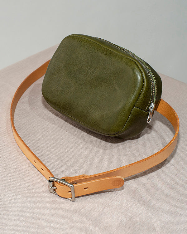 BARKENED 'BOTANY' BELT BAG