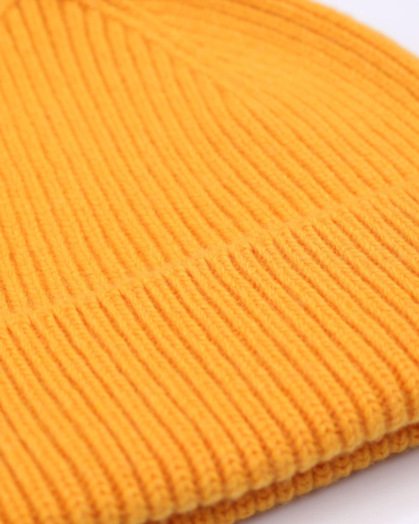 Colorful standard burned yellow unisex beanie