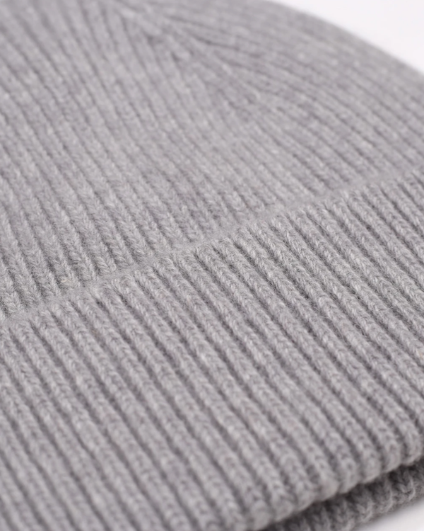 COLORFUL STANDARD UNISEX MERINO WOOL BEANIE - HEATHER GREY