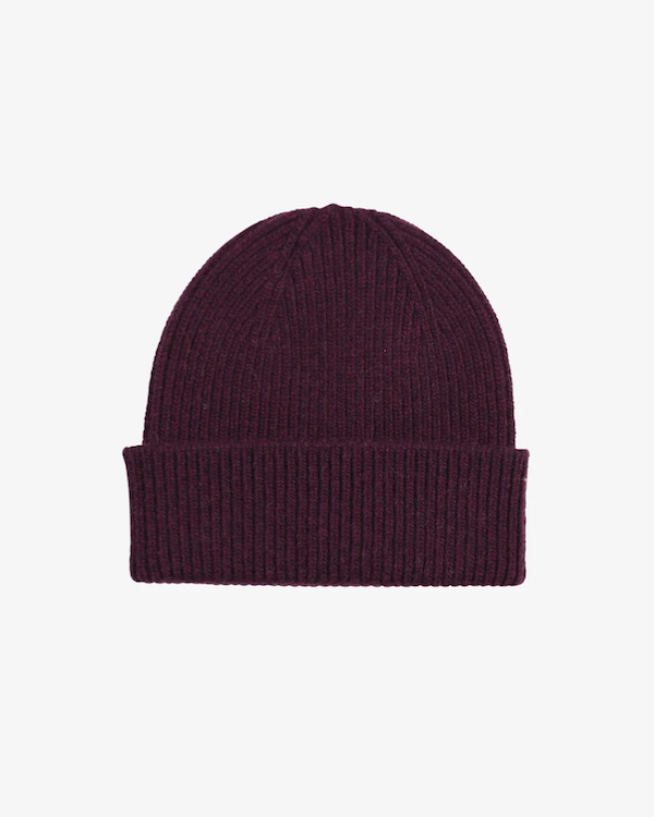 colorful standard unisex beanie oxblood