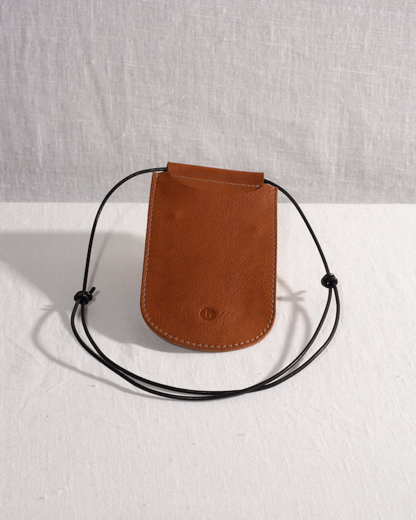 BARKENED 'COOPER' LEATHER PHONE CASE