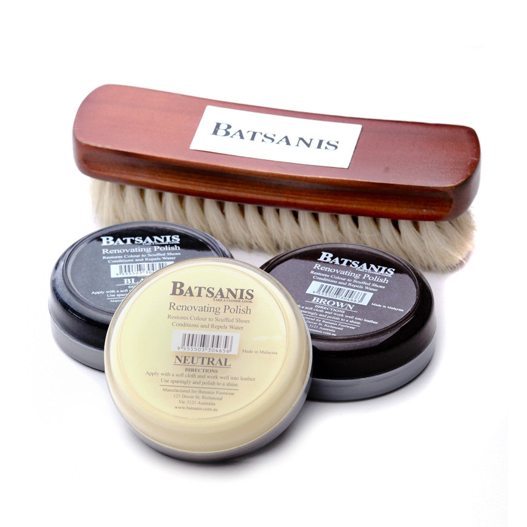 Batsanis Shoe Care Products