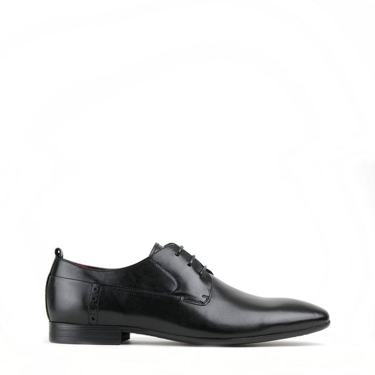 Archie Black Derby Shoes