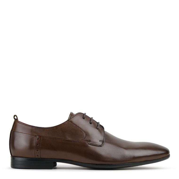 Archie Coffee Derby Shoes