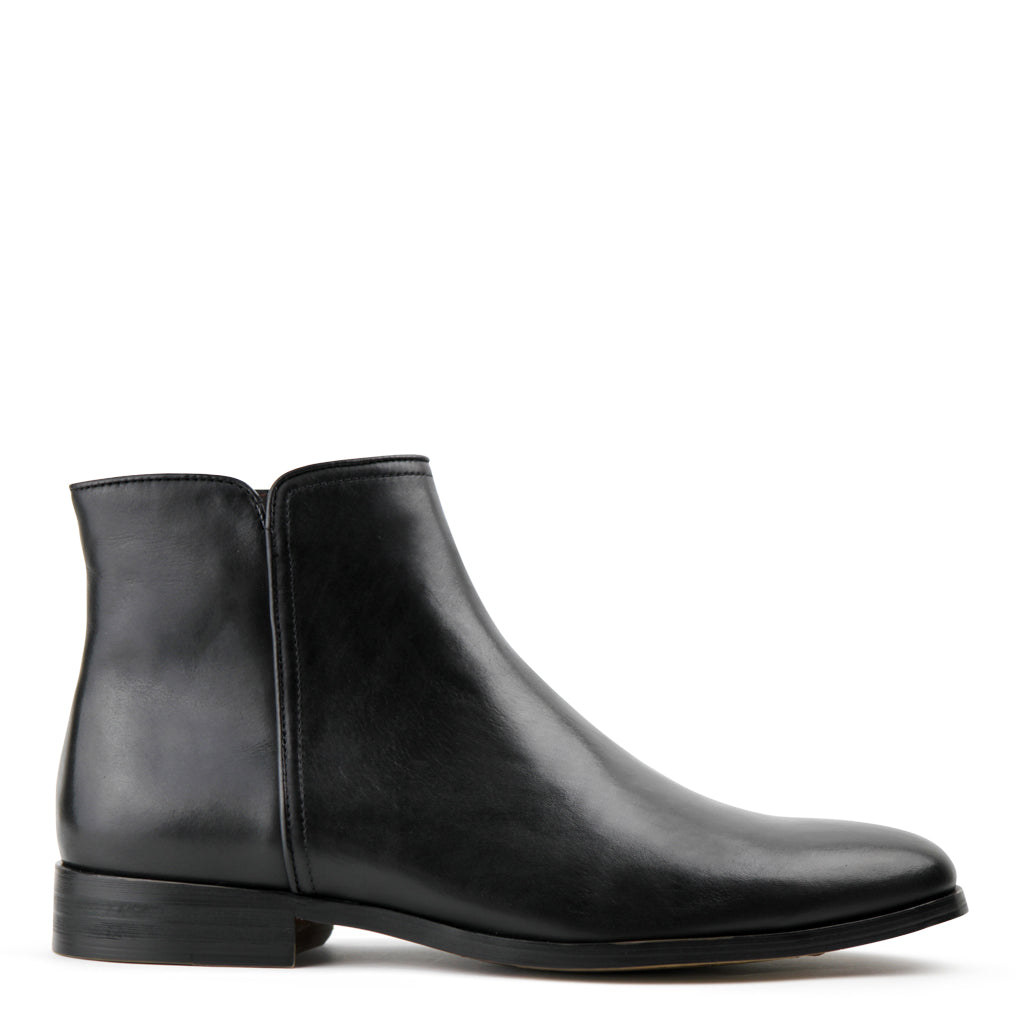 Ascot Black Zip Boot