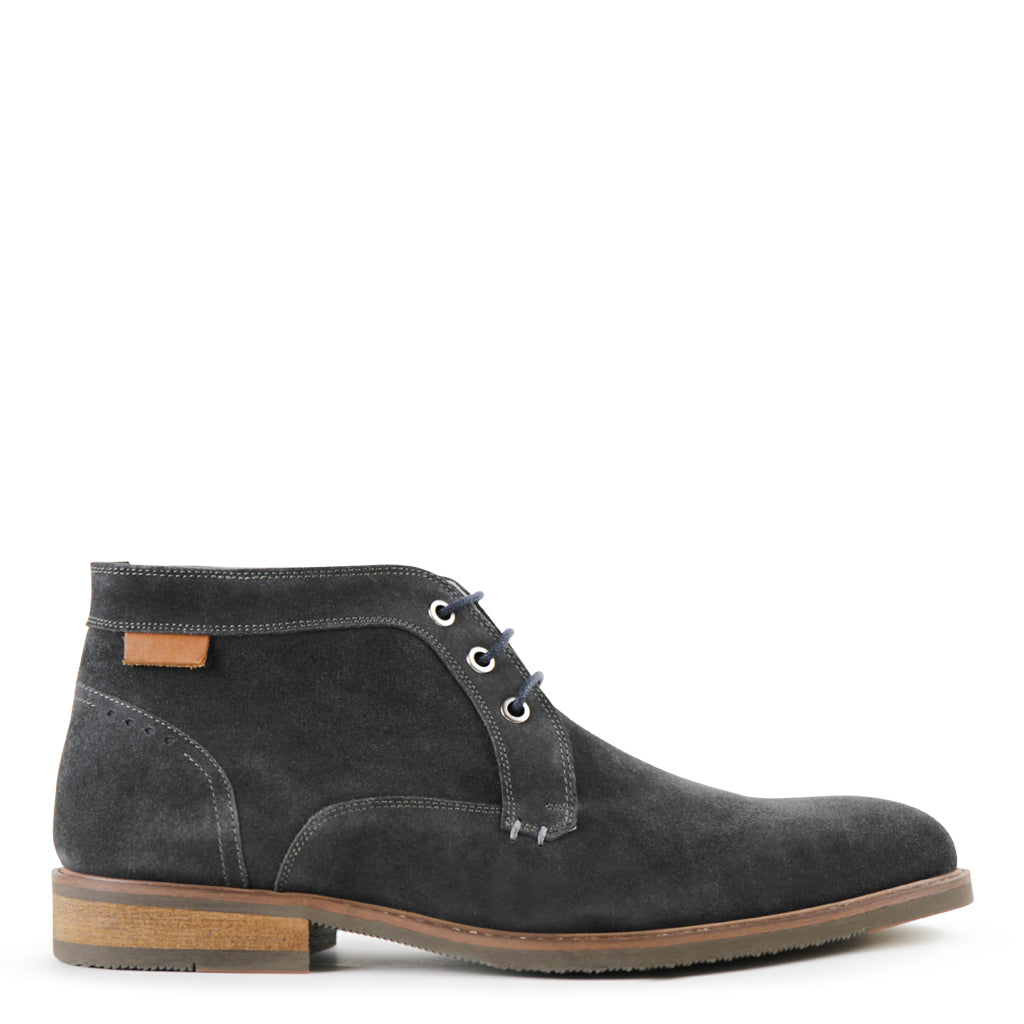 Dean - Charcoal Suede