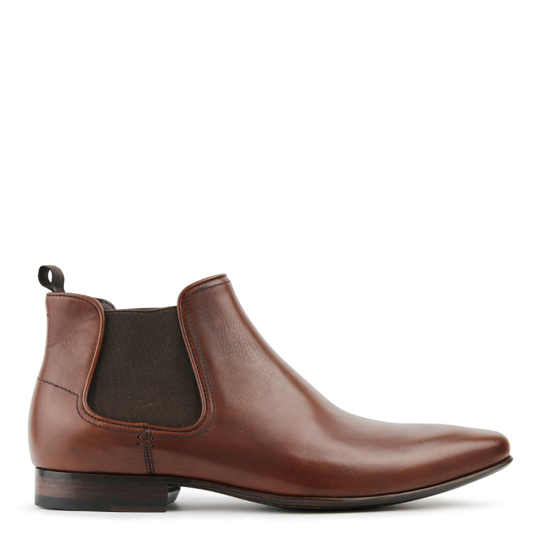 Matteo Brown Chelsea Boots