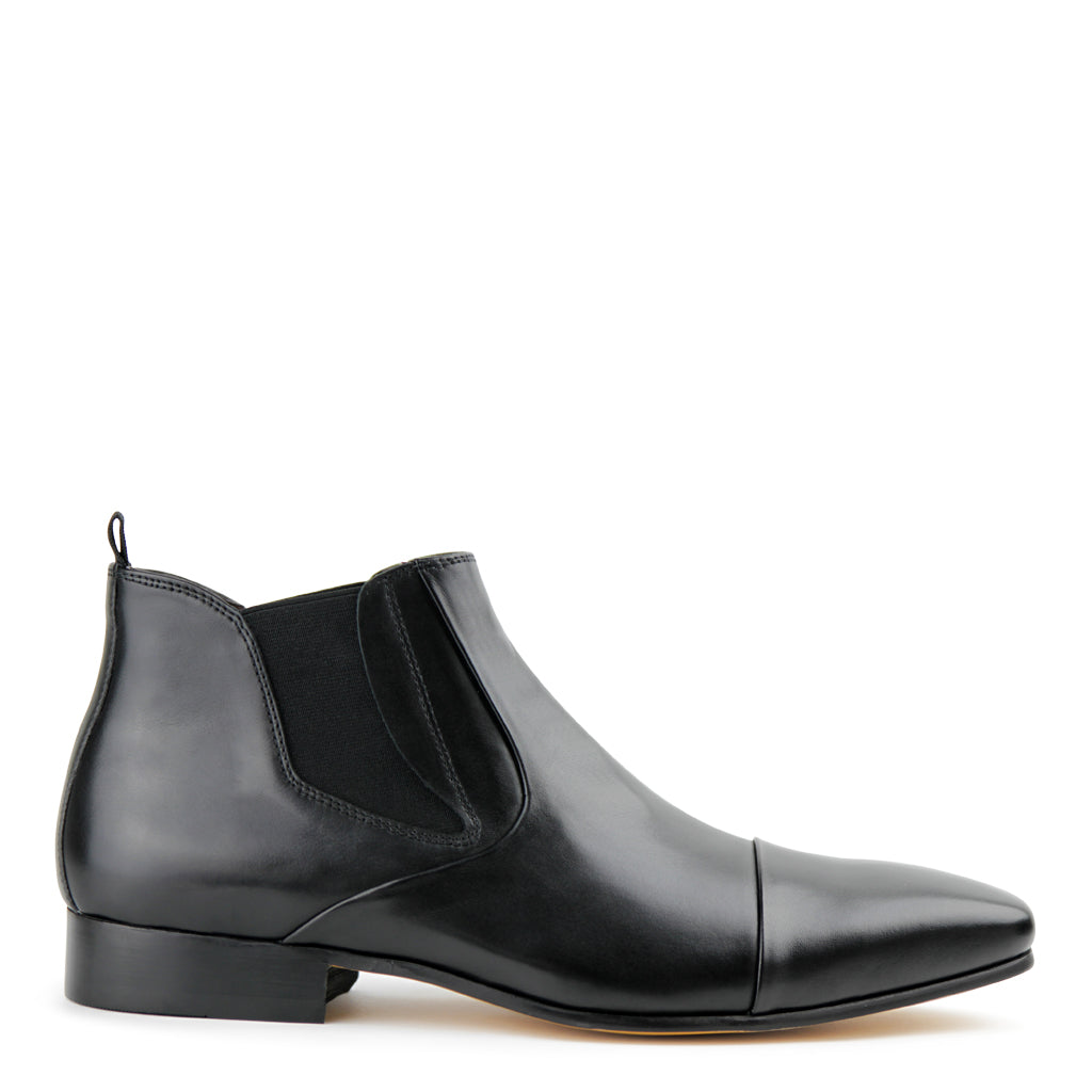 Road Black Chelsea Boots