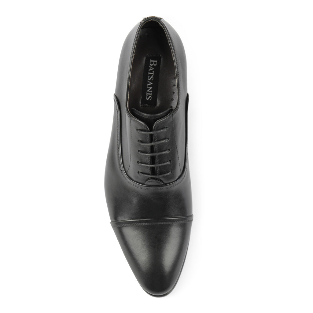 Tarson Black Oxford Shoes