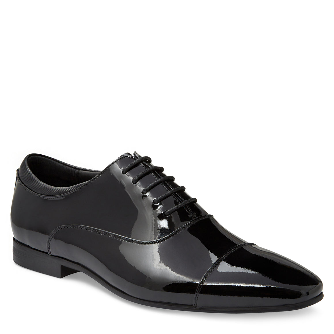 Astaire Black Patent Oxford Shoes