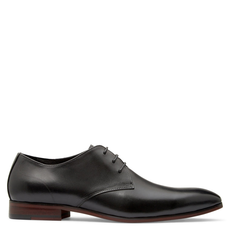 Austin Black Derby Shoes