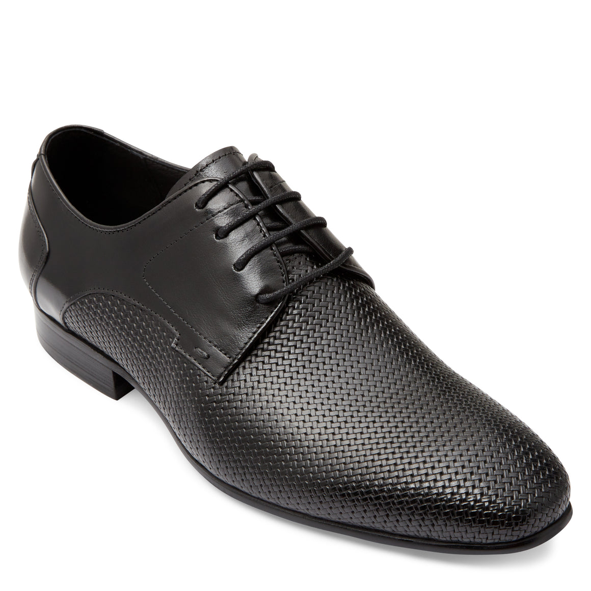 Chase Black Derby Shoes
