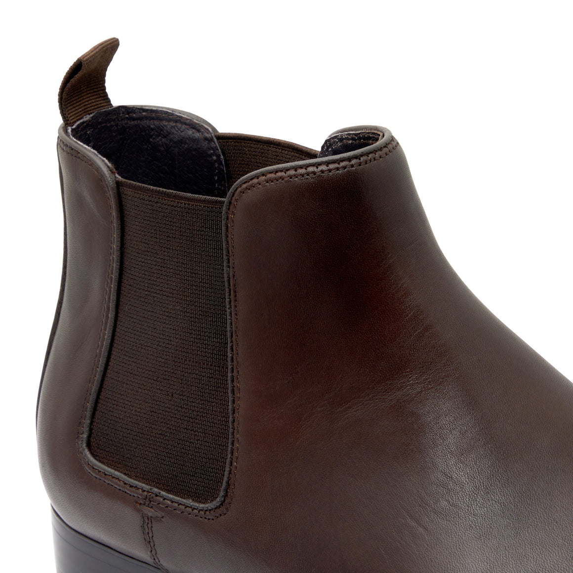 Chester Brown Chelsea Boots