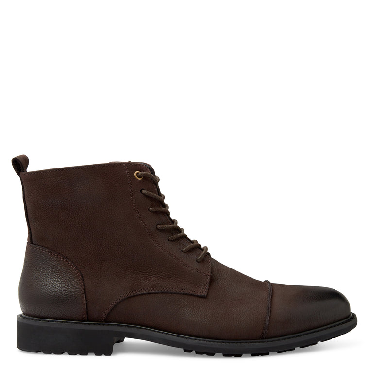 Combat Brown Military Boots