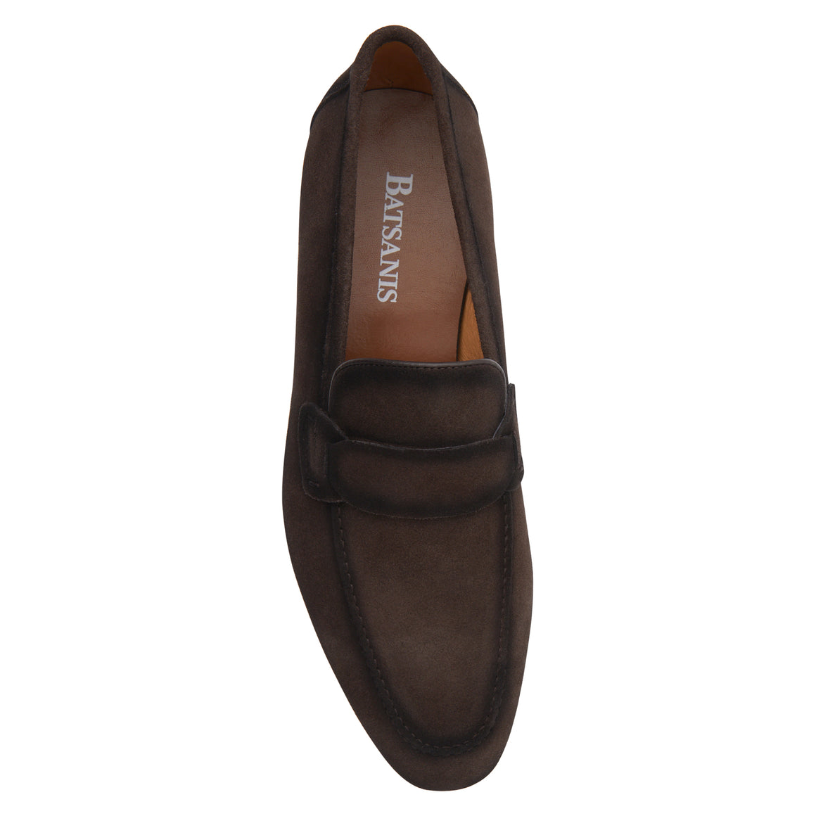 David Brown Suede Loafers