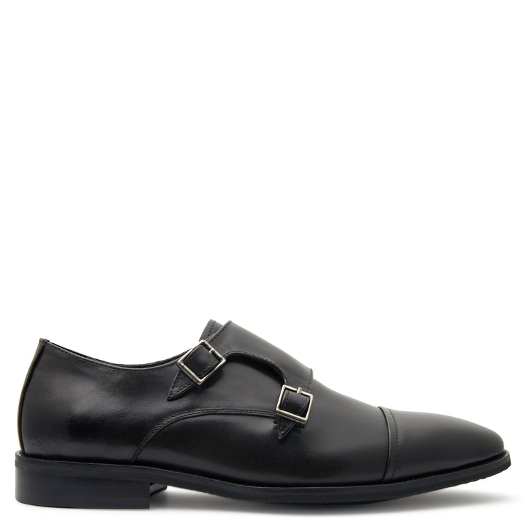 Dunhill Black Monk Shoes