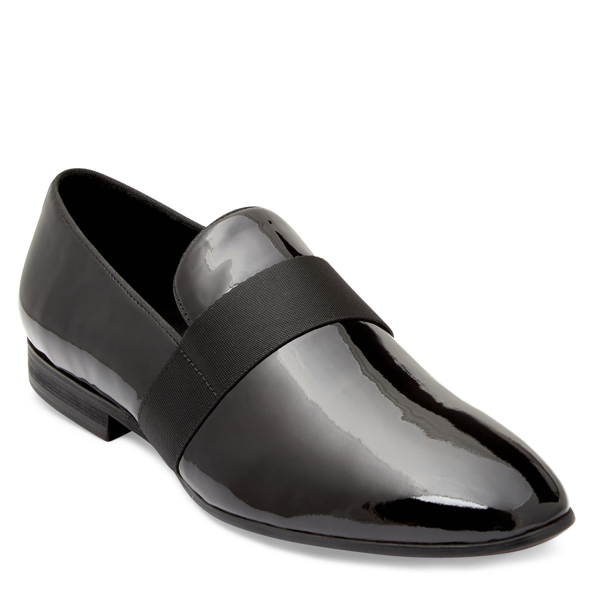 Dylan Black Patent Loafers