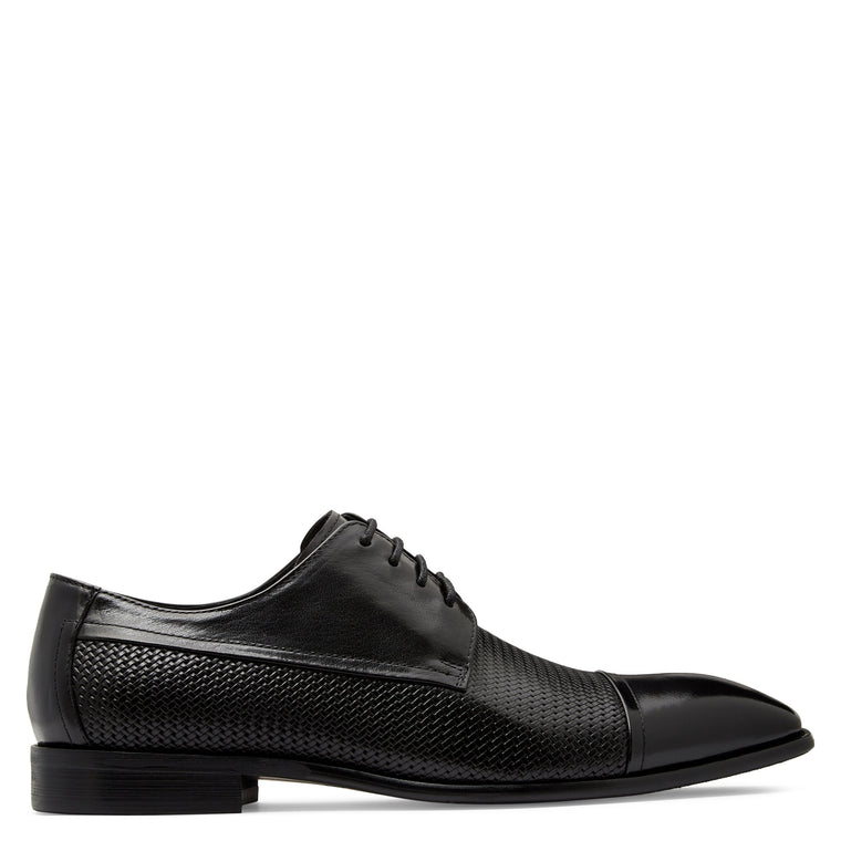 Hunt Black Derby Shoes