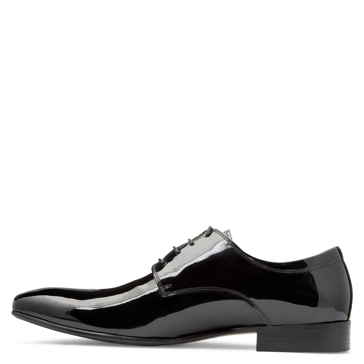 Levi Black Patent Derby Shoes