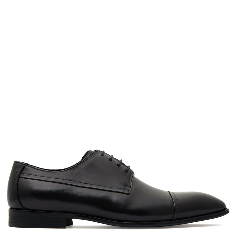 Lloyd  Black Derby Shoes