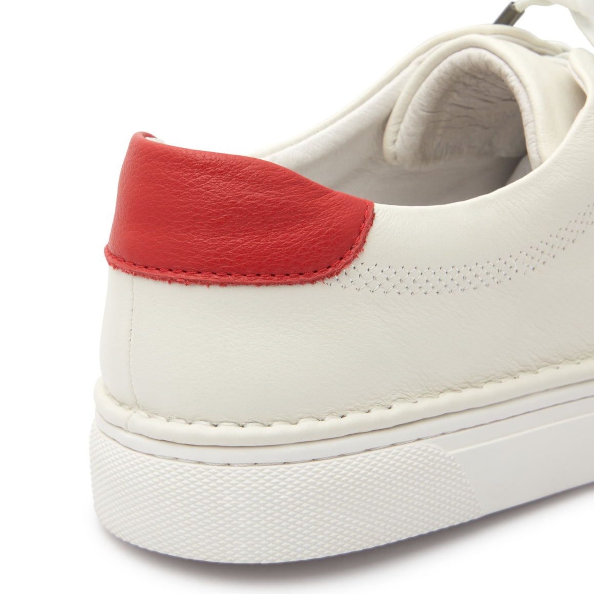 Lomas White-Red Sneakers