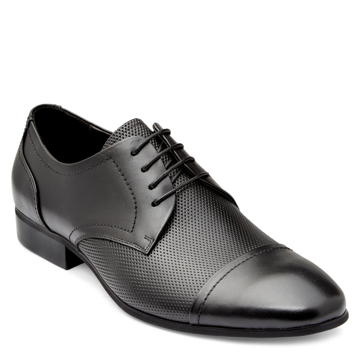 Olsen Black Derby Shoes